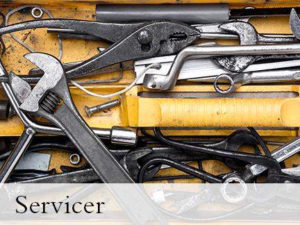 newsletter sign up - servicer